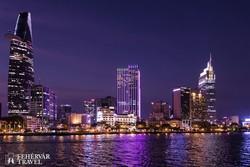 Saigon éjszakai pompájában