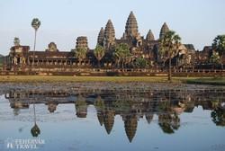 a Kambodzsa jelképévé vált Angkor Wat