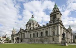 Belfast: a városháza épülete