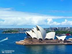 Sydney világhírű operaháza