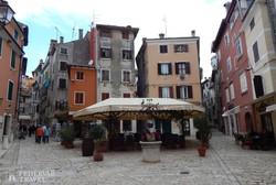 Rovinj hangulatos óvárosa – részlet