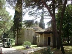 a Szent Germana-templom és kápolnája Nagy-Brioni szigetén