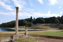római kori maradványok Nagy-Brioni szigetén