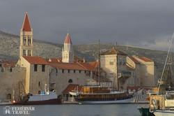 Trogir – a kis szigetre épült műemlékváros egy részlete