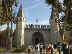 Isztambul – a Topkapi szeráj kapuja