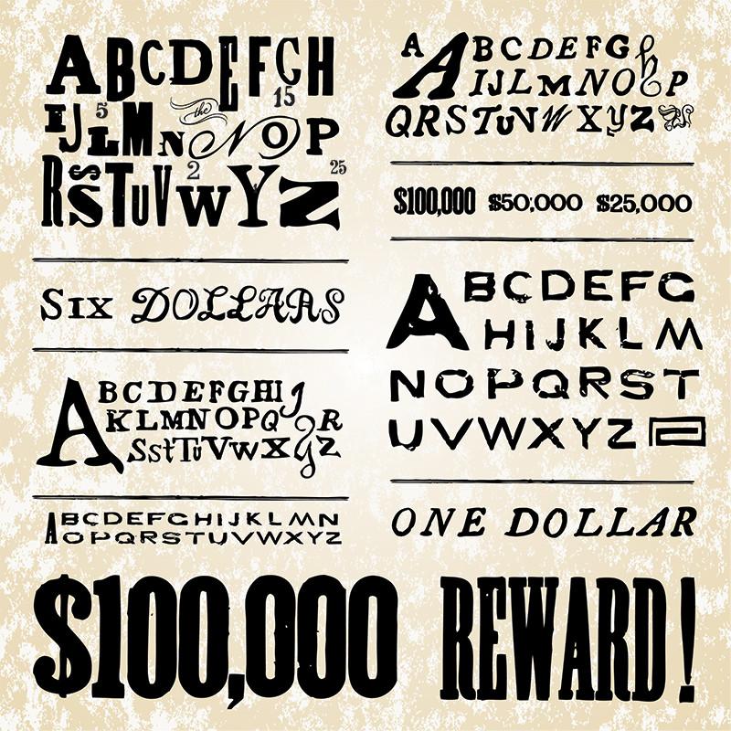 Retro Poster Fonts