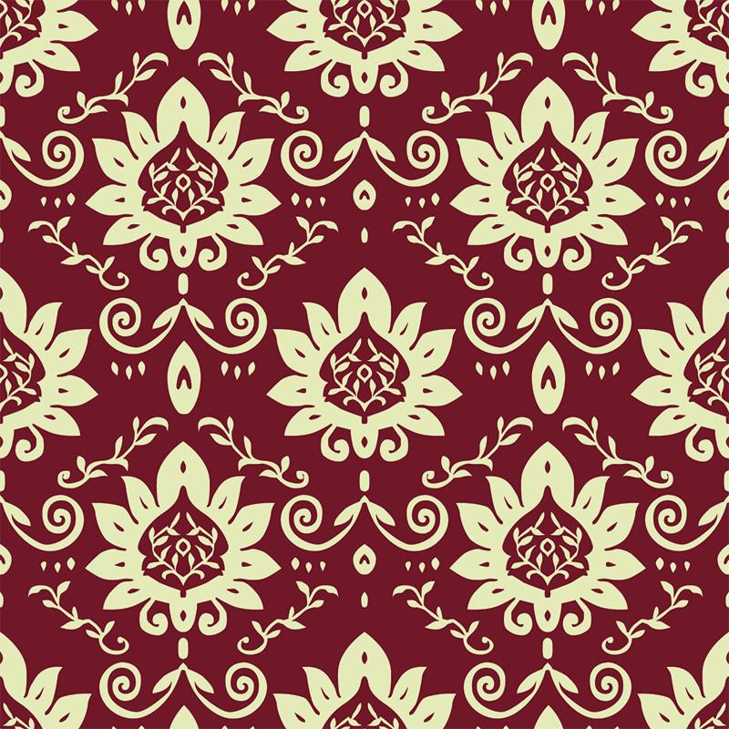 Victorian Flower Pattern