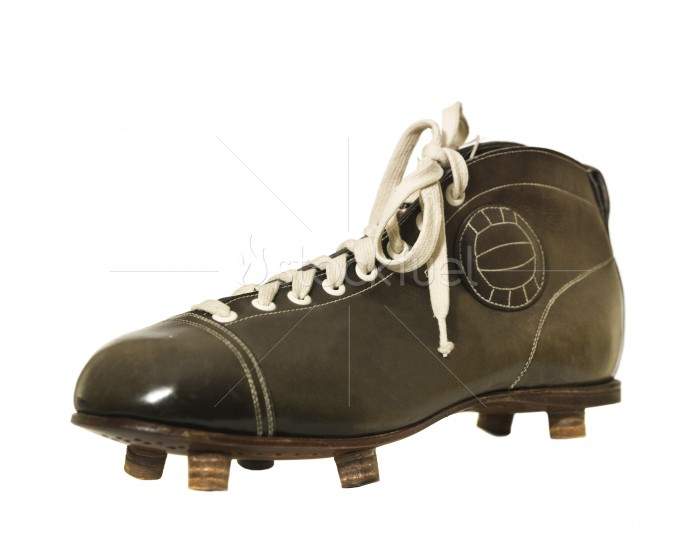 Vintage Football Soccer Shoe