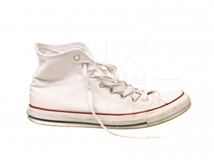 Worn Sport Shoe