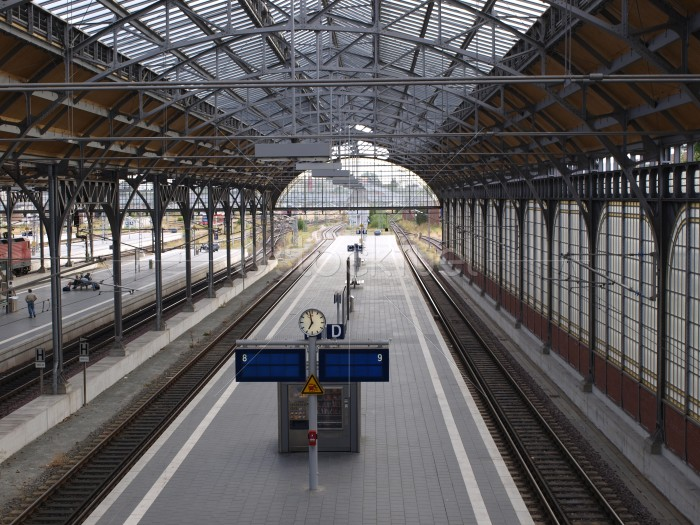 Railway Station Lubeck