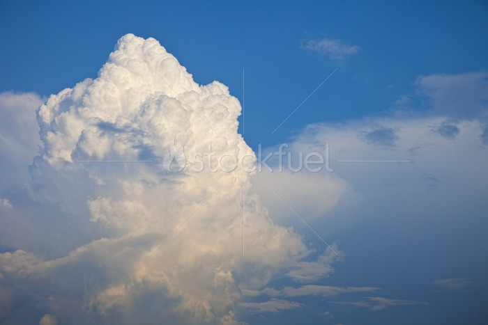 Cumulus Cloud Stock Photo Stockfuel