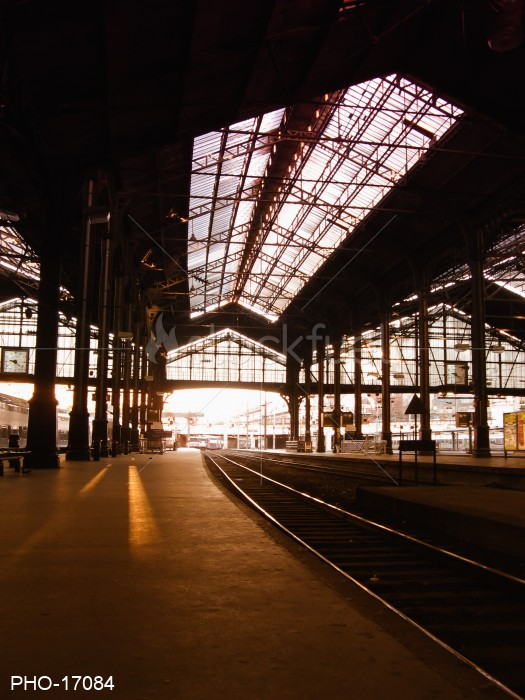 SaintLazare train station in Paris
