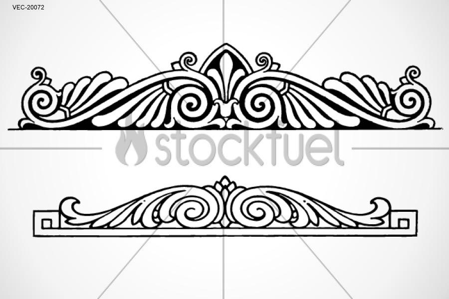 Vector Border Ornament Graphics