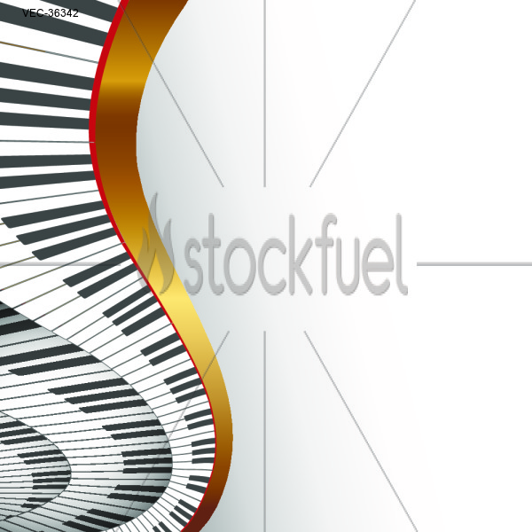 Musical Piano Background