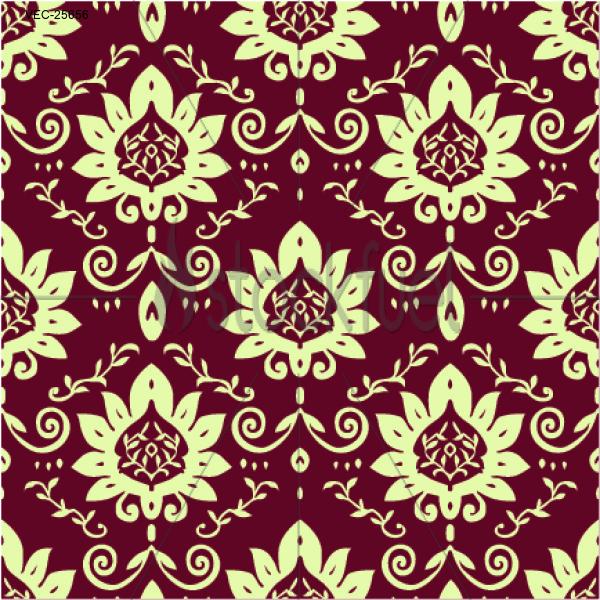Vector Flower Blossom Pattern