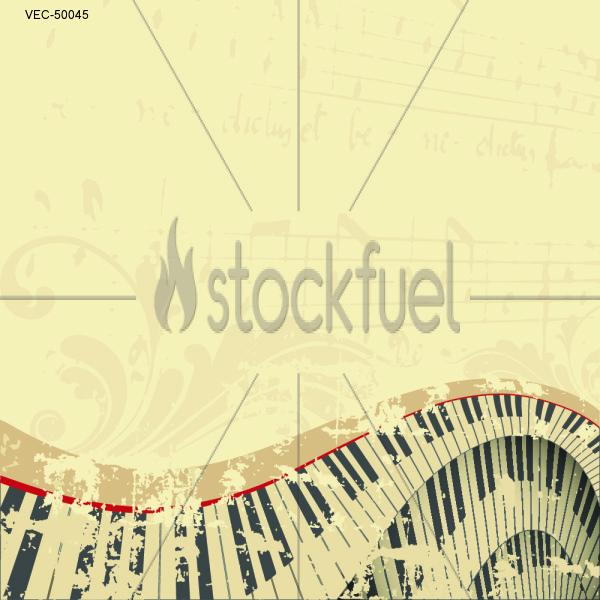 Grunge Musical Background