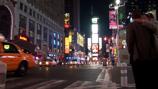 Time Lapse of Times Square