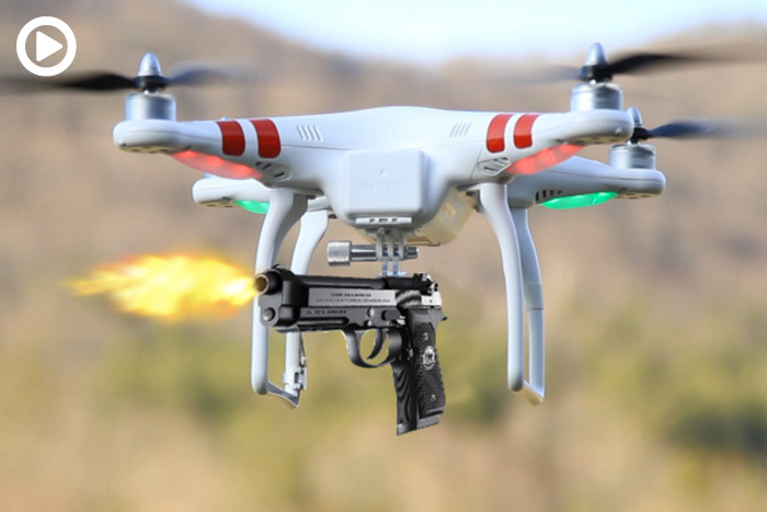 Arming Your Drone With A Gun Is Currently Legal O Full