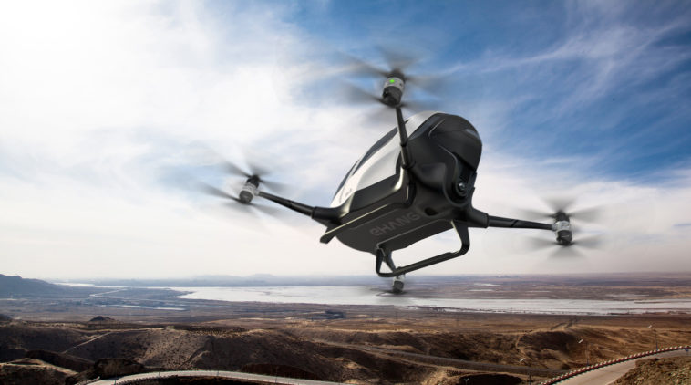 Ehang 184 personal transport drone