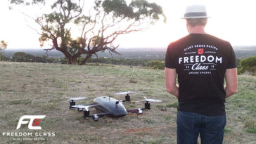 giant drone racing freedom class