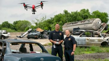 Drones in law enforcement
