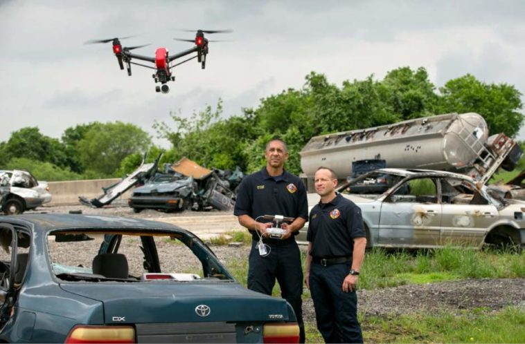 Drones in law enforcement