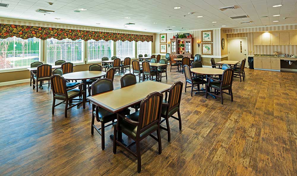 Springs Ranch dining area