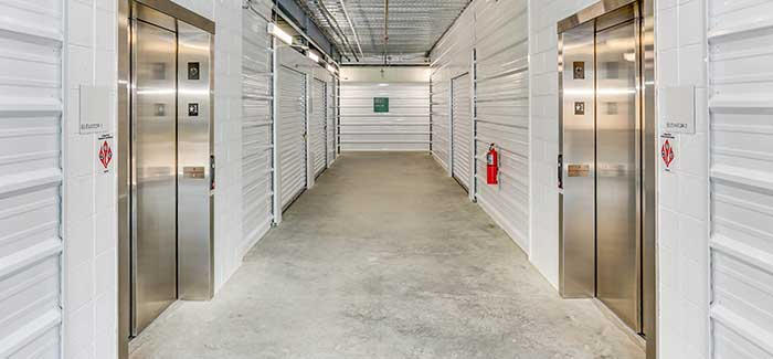 Elevators And Other Convenient Features at Happy Boxes Self Storage in Richmond, Virginia