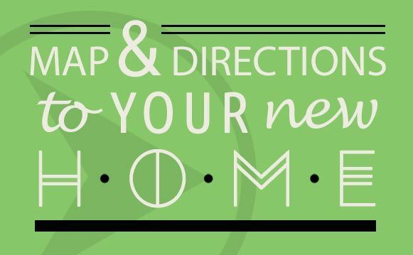 Map and directions to your new home in Tulsa, OK