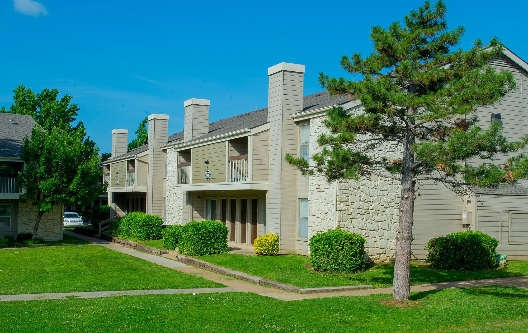 Riverpark apartments in South Tulsa