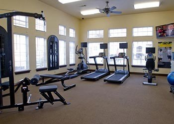 Fitness center with plenty of windows