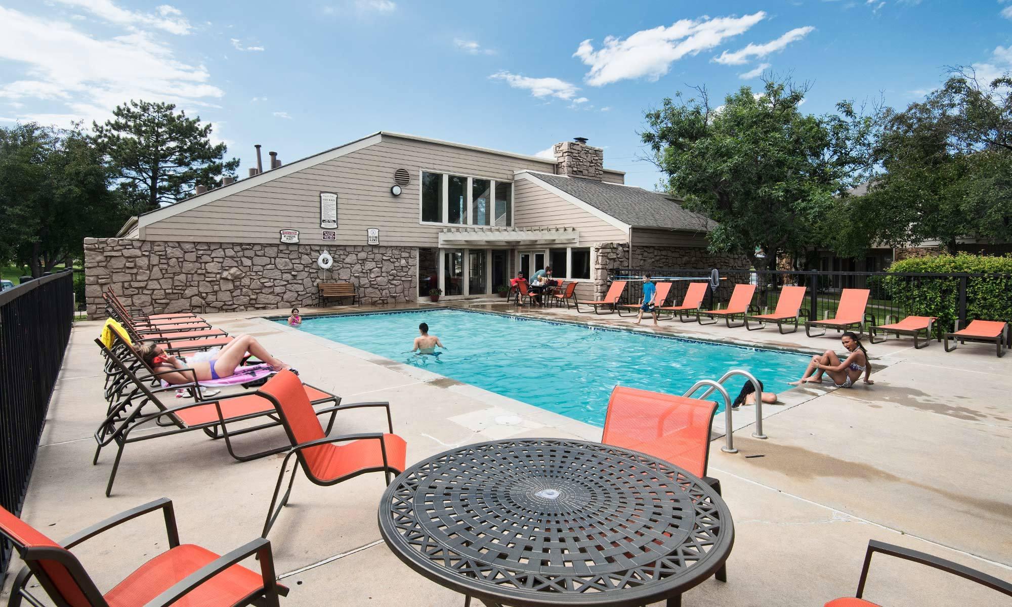 Wichita swimming pool amenities