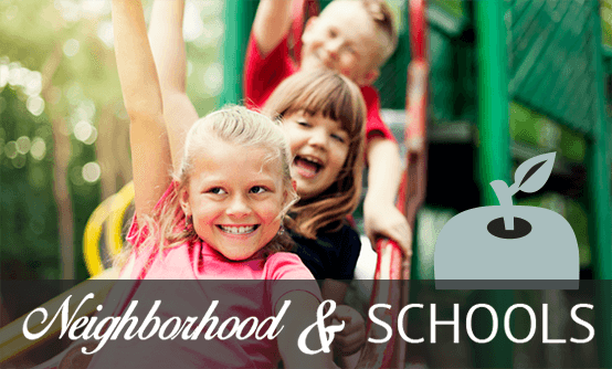 Information about the neighborhood surrounding our apartments in Edmond