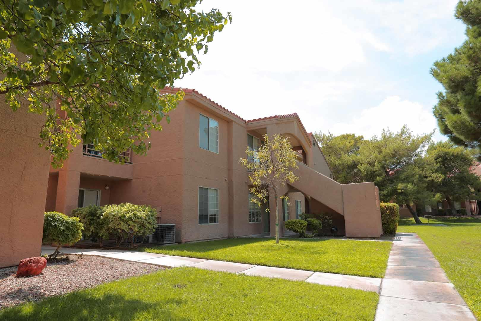 Las Vegas apartments offer beautiful landscaped community