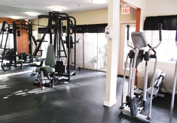 Our well equipped fitness center