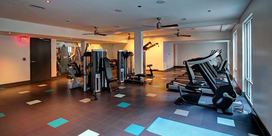 Stay in shape at the state of art fitness center