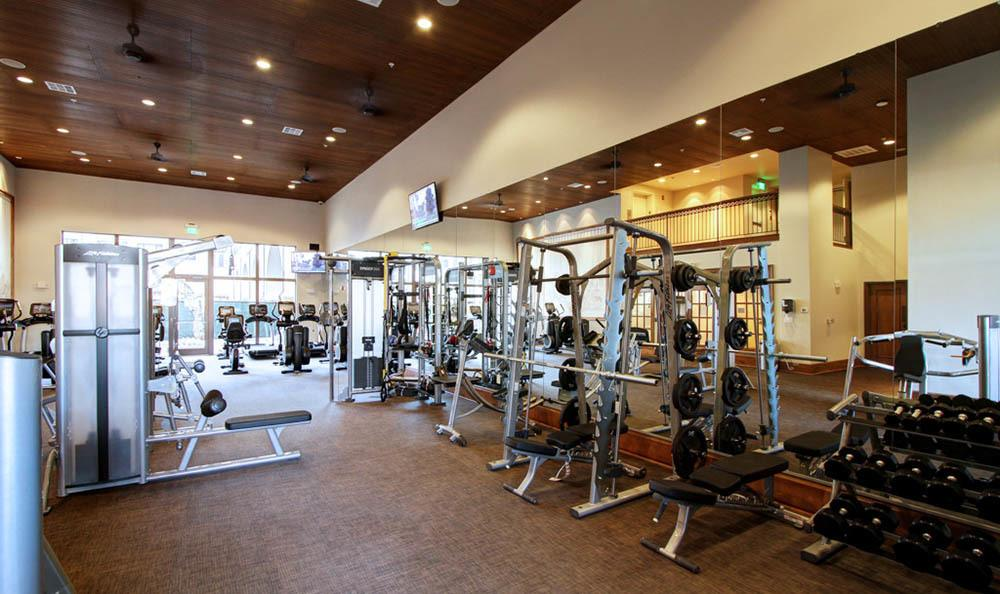 Staying in shape is easy at our state of art fitness center