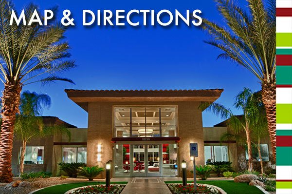 Map and directions to our apartments for rent in Phoenix