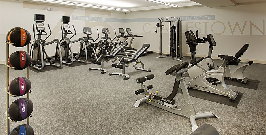 Charlestown apartments fitness center