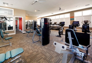 Keep fit in style at our on-site fitness center at in St. Petersburg