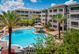 Our St. Petersburg apartment community offers excellent amenities, including a swimming pool