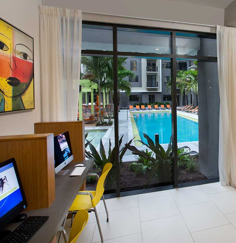 Our luxury apartment community is second to none here in Miami; schedule your tour of Berkshire Coral Gables today!