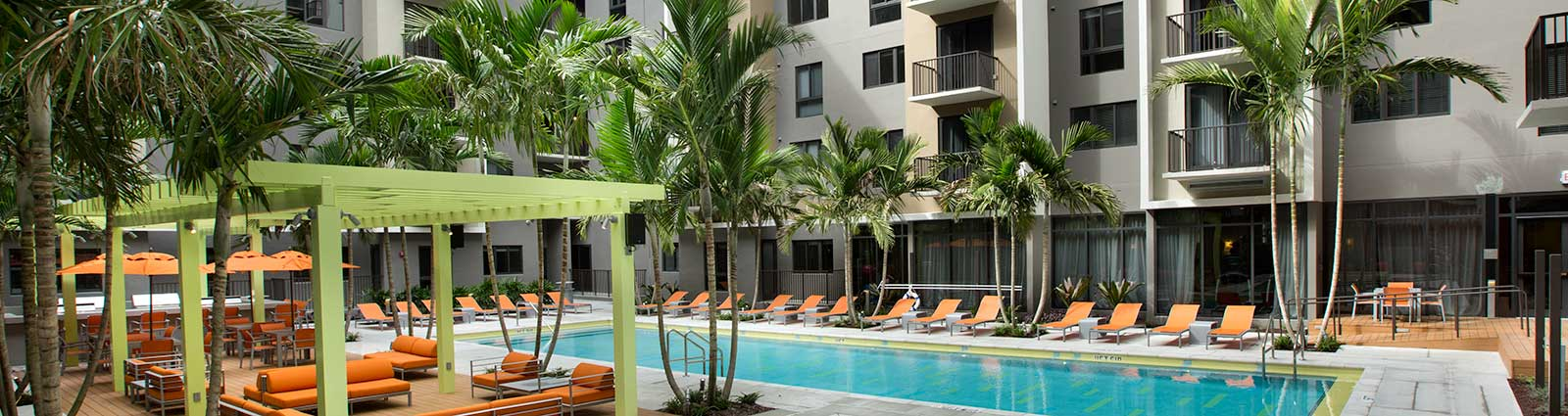 Schedule a tour to view our apartments in Miami, FL