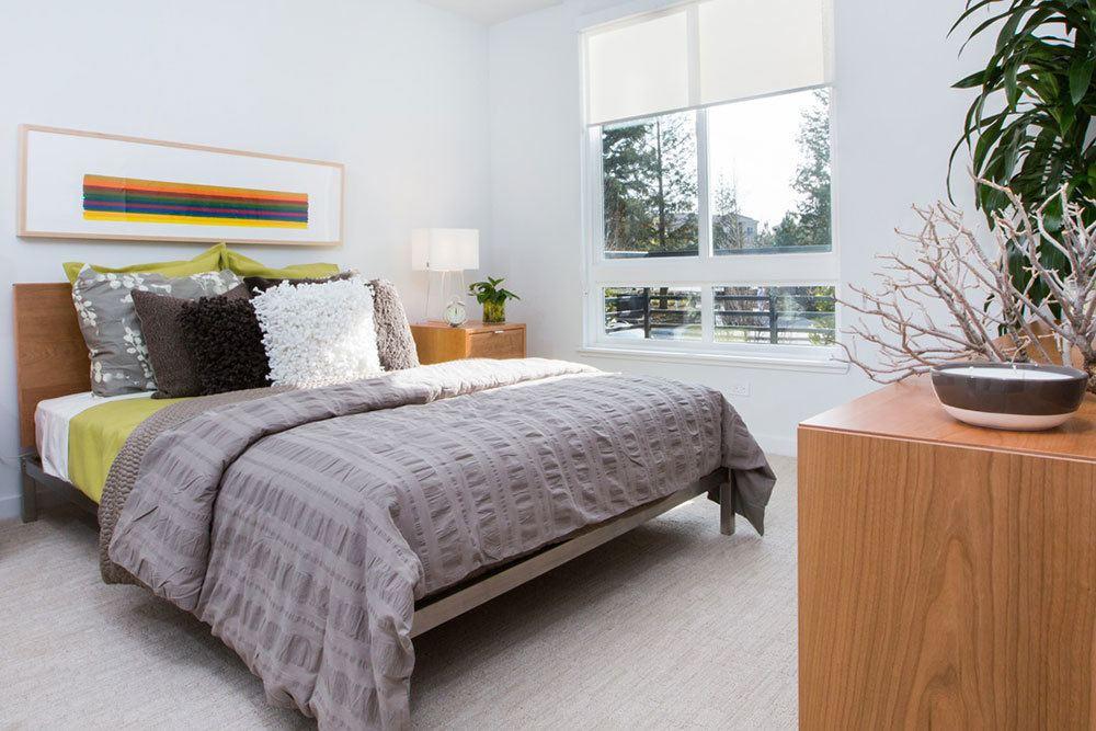 ... Stylish Modern Bedroom At San Jose Apartments ...