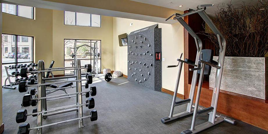 Stay fit at our state of art fitness center