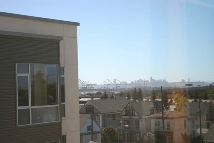 Beautiful view of Oakland