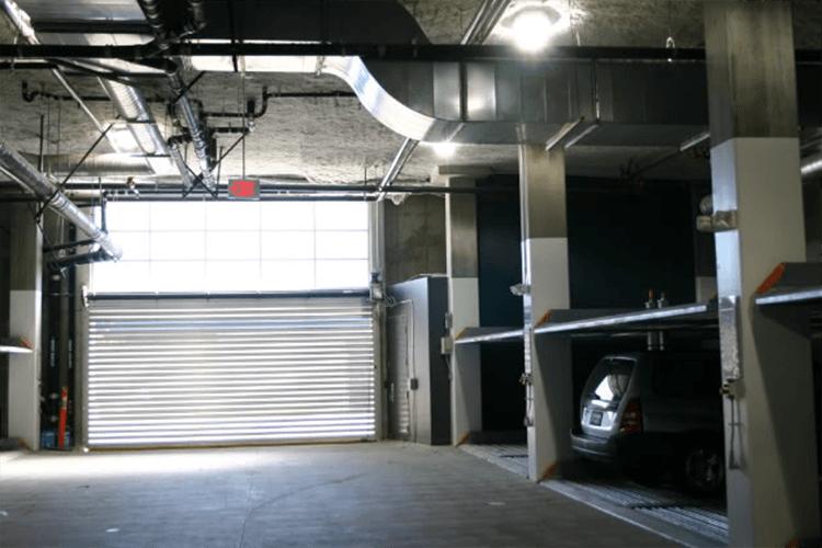 Parking garage at 901 Jefferson