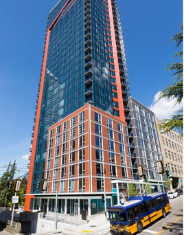Brand New Seattle Apartments In First Hill  High Rise Apartments Seattle
