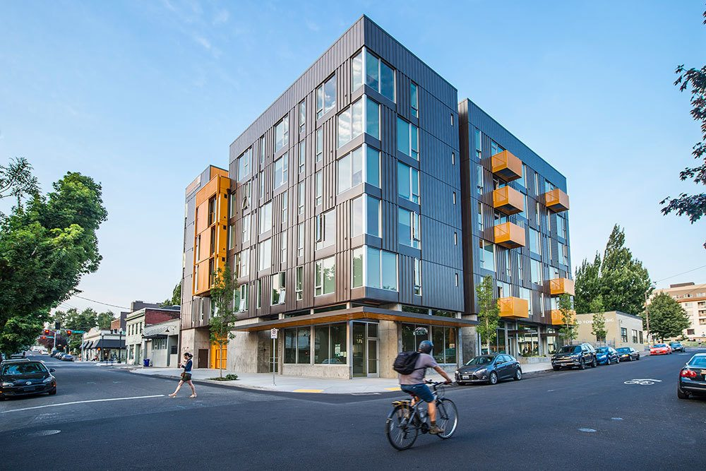 Lower Burnside is situated in one of the most bike criendly neighborhoods in Portland