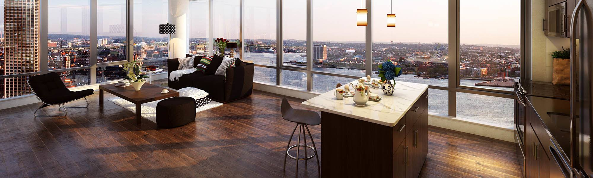 boston apartment features | the benjamin seaport residences